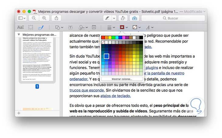 Archivos PDF en Mac