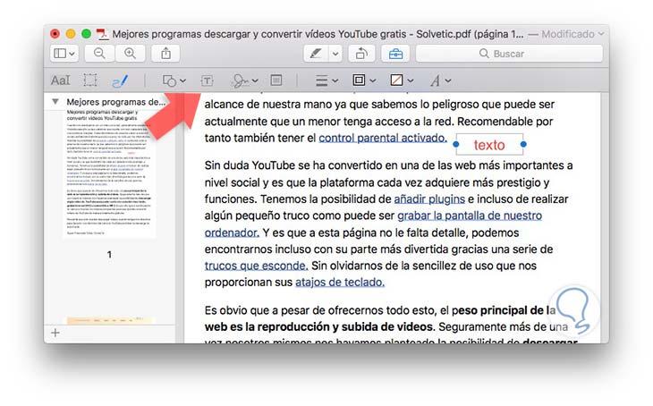 PDF en Mac