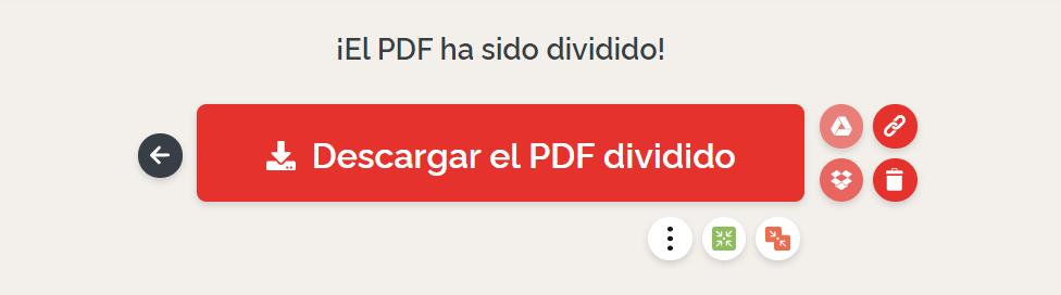 Eliminar páginas PDF