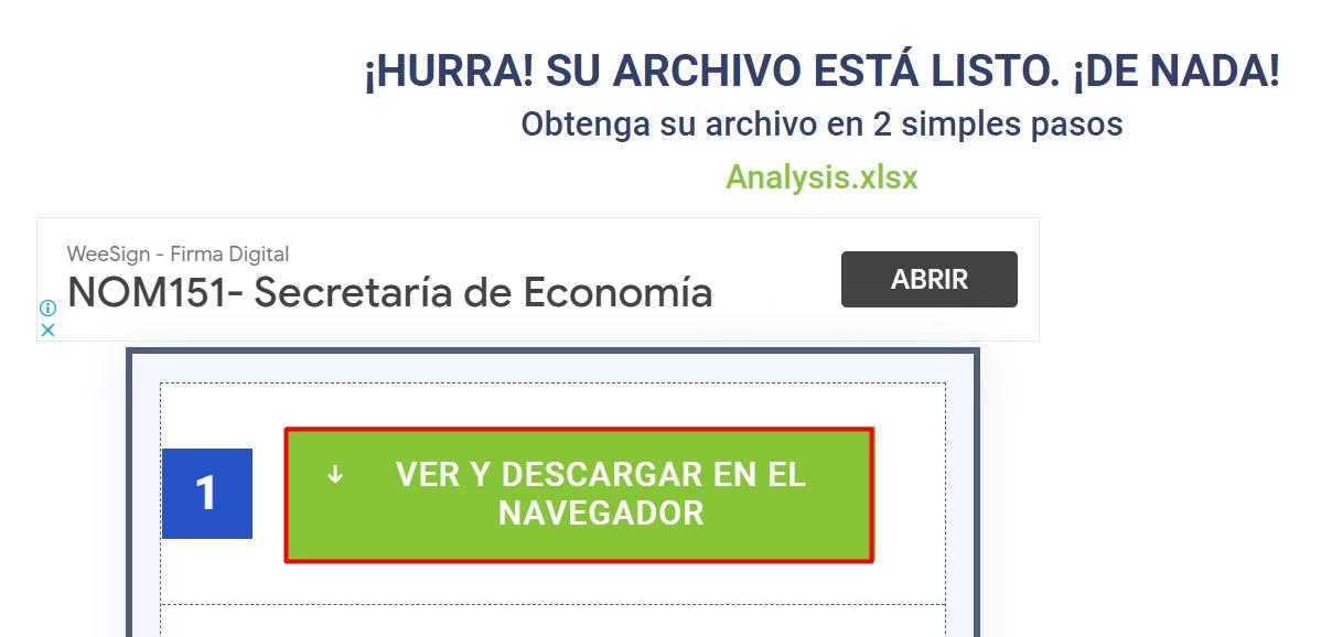 Ver y descargar archivo
